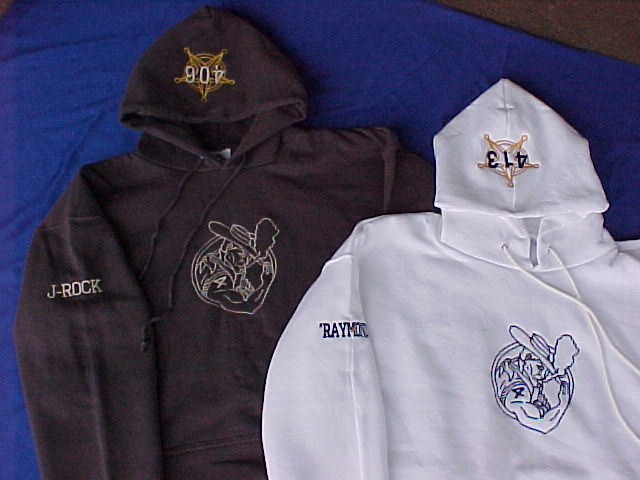 Embroidered or Screened Campus Wear